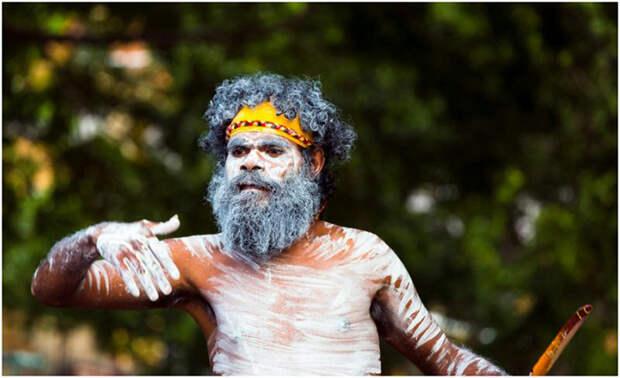 Австралийские аборигены.