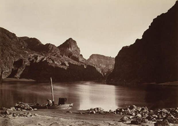 Фото Тимоти О'Салливана. «Черный Каньон, река Колорадо». 1871 год