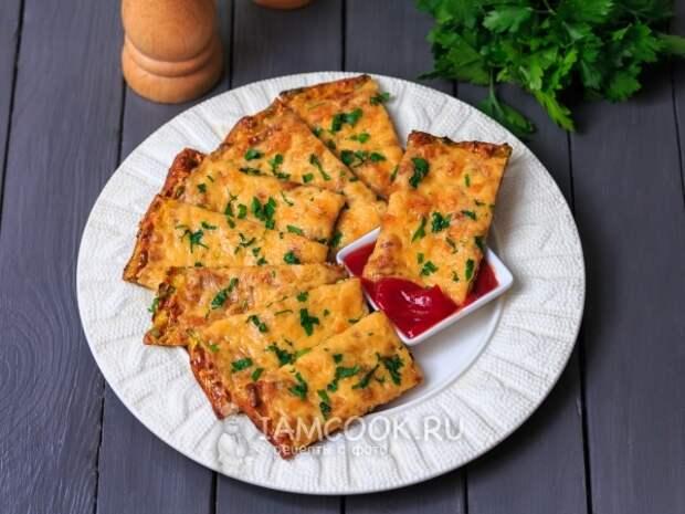 Сырные хлебцы из кабачков