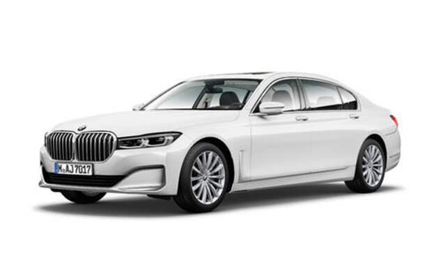 У BMW украли фото обновленного седана 7-й серии