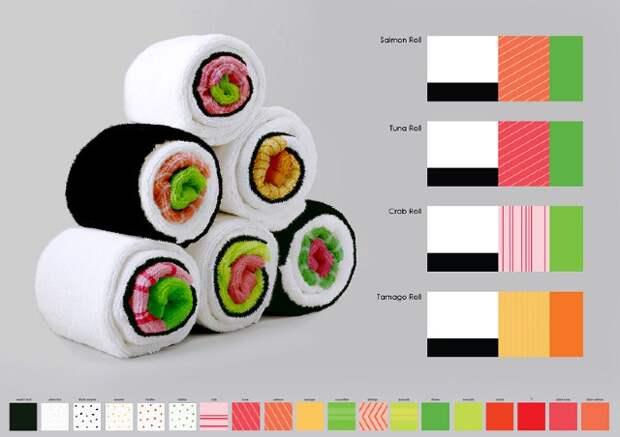 Полотенца-суши