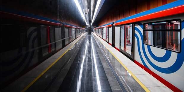 На северной части оранжевой ветки метро по техническим причинам задерживались поезда