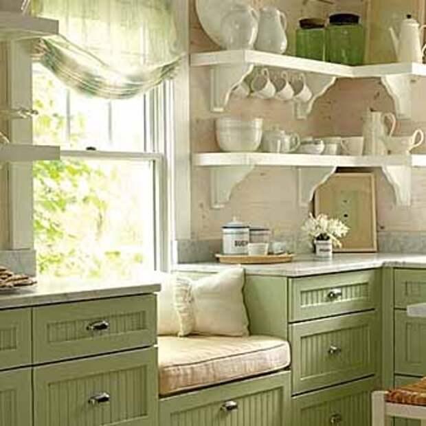 окно на кухне идеи