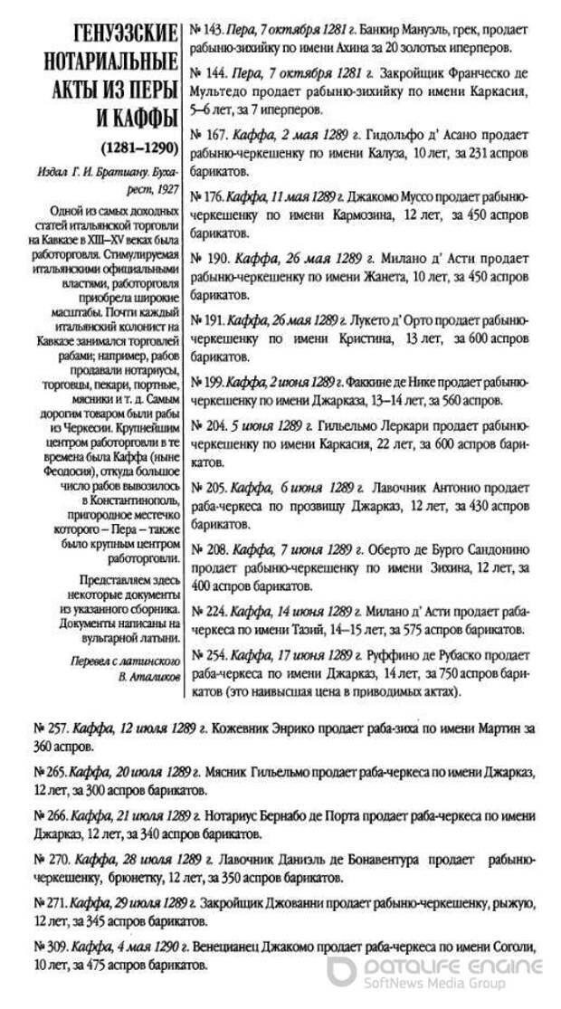 50. Работорговля на Северо-Восточном Причерноморье во времена монголов
