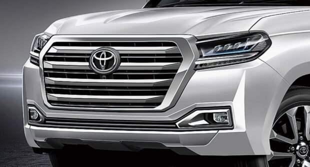 Новый внедорожник Toyota Land Cruiser 300 впервые сфотографировали без камуфляжной защиты