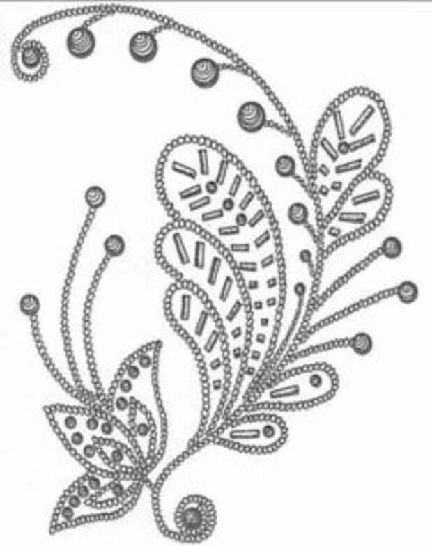 ВЫШИВАЙКА. Виды бисерных узоров на одежде и украшениях
