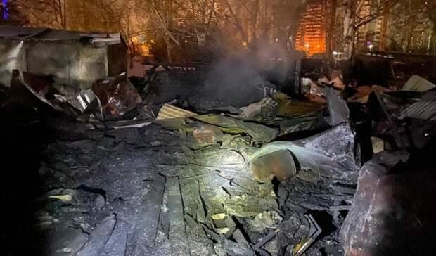 Из-за гибели двух человек вовремя пожара вЕкатеринбурге следователи начали проверку
