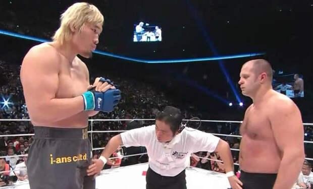 5 ММА-бойцов, которые едва помещаются в ринг