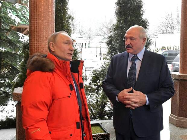 Лукашенко: я считаю Путина своим другом