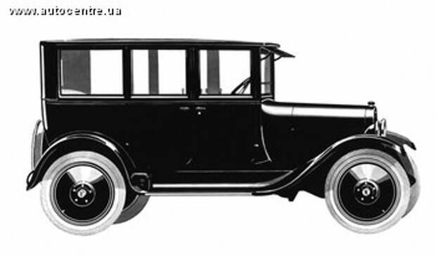 Первый автомобиль седан