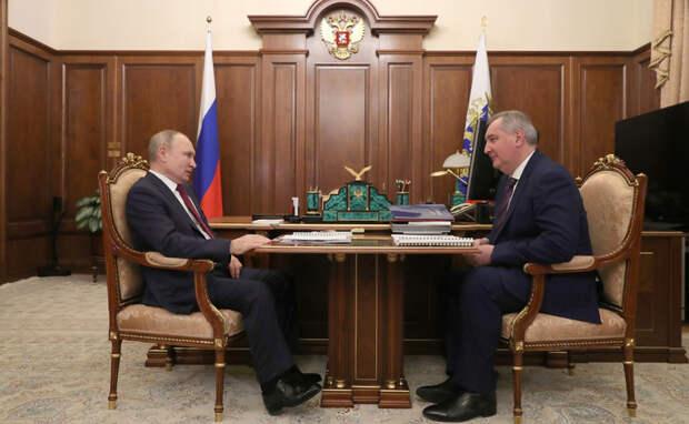 Источник: Путин получил тревожные данные о Роскосмосе