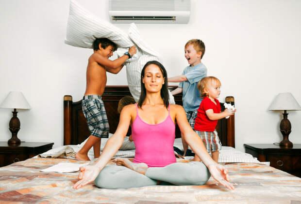 Перестаньте разыгрывать из себя идеальную маму!