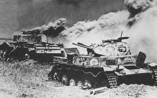 Танковая безысходность вермахта у Акулово в 1941