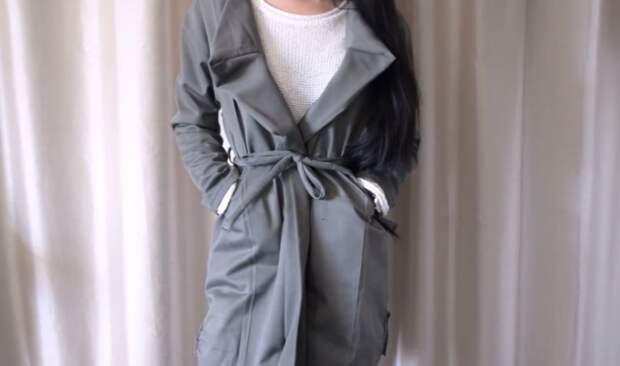 Пальто...из брюк (Diy)