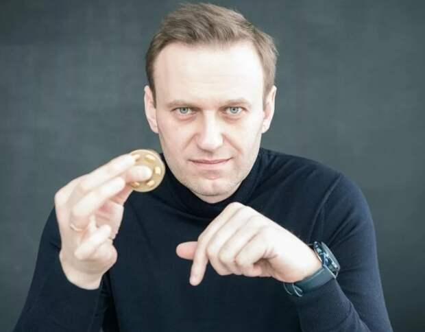 Навальному явно помогает Запад: у российского блогера гора биткоинов