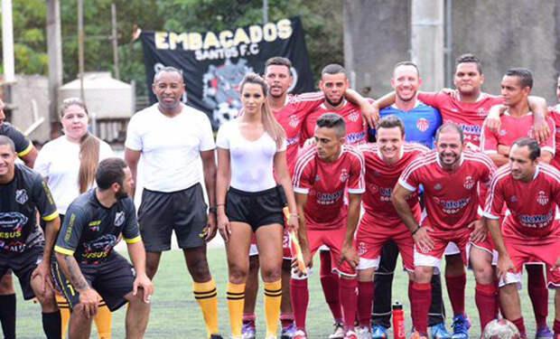 Судья без белья чуть не свела с ума бразильских футболистов