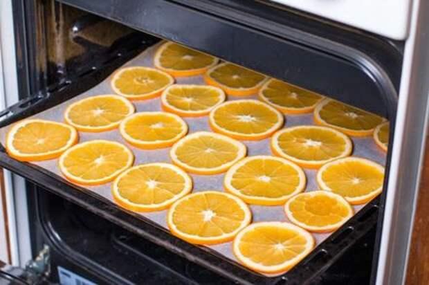 Сушеные апельсины: вкусное угощение и красивая идея для декора. Этап: 4