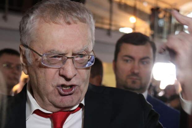 Жириновский: на Западе услышат сигнал Путина о жестком ответе
