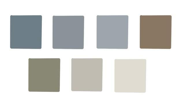 Актуальные цвета для скандинавского интерьра в 2021 году