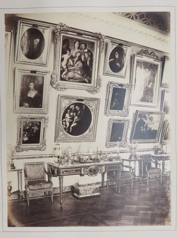 Строгановский дворец. Картинная галерея, фрагмент