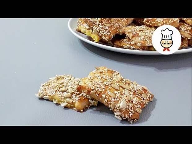 Печенье с семенами