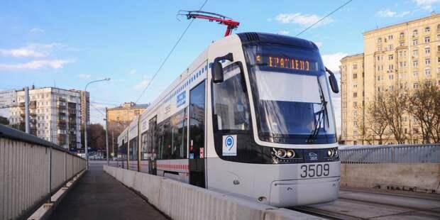 С 26 апреля возобновилось движение трамвая №6