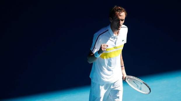 Медведев: «Победить Рублева в трех сетах — очень крутой результат. Сегодня я провел один из своих лучших матчей»