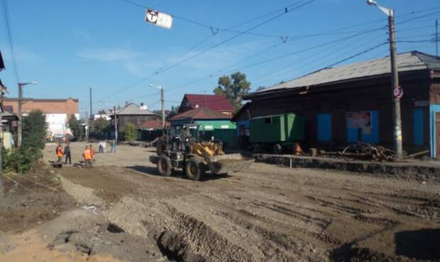 Улицу Ремесленную в Иркутске полностью отремонтируют в 2015 году