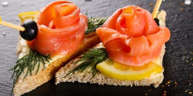 5 оригинальных рецептов бутербродов с красной рыбой