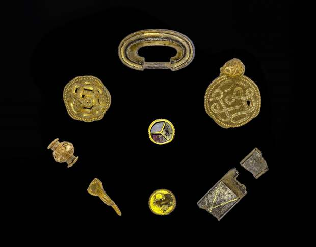 Археологи нашли сокровища железного века