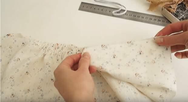 Как сшить романтичное платье без выкройки