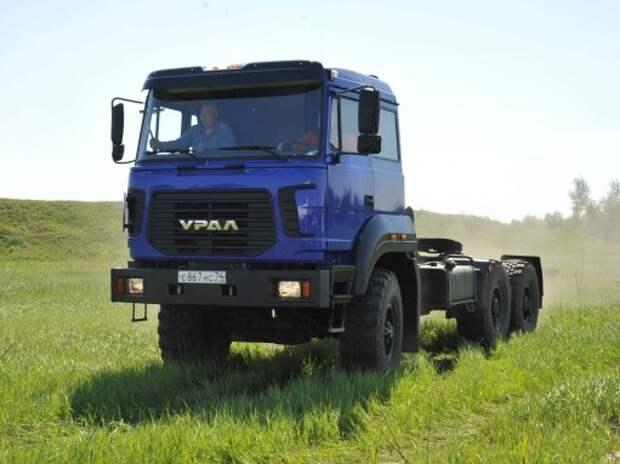 Автозавод «Урал» начнет выпуск грузовиков на газовом топливе