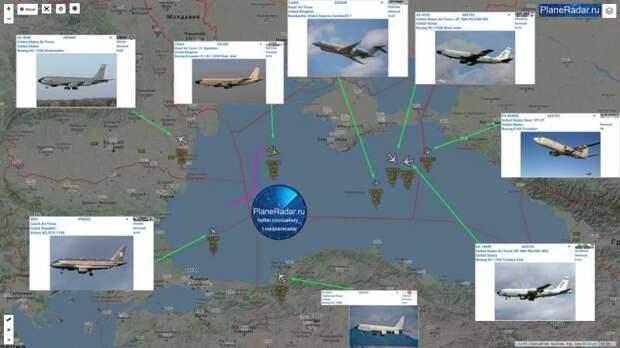 Над Черным морем собралась крупнейшая авиагруппировка НАТО