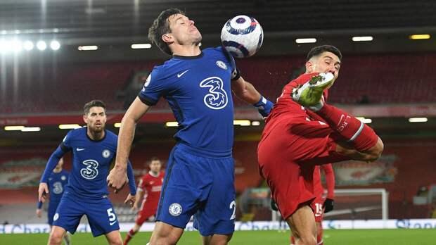 «Челси» одержал победу над «Ливерпулем» и поднялся на 4-е место в АПЛ