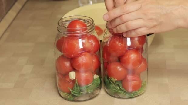 Заготовки на зиму. Пряные помидоры в собственном соку IrinaCooking, видео рецепт, еда, заготовки, заготовки на зиму, кулинария, рецепт