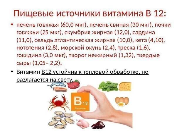 Смертельно нужный. Сколько лет проживет человек без витамина В12?