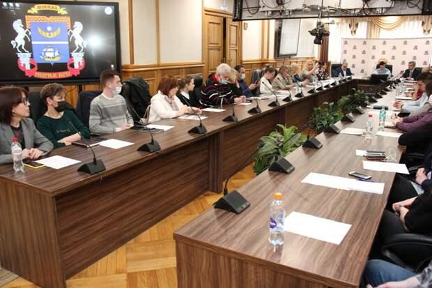 На конференции 20 апреля работники префектуры и управ Северного административного округа обсудили вопросы реализации национальной политики