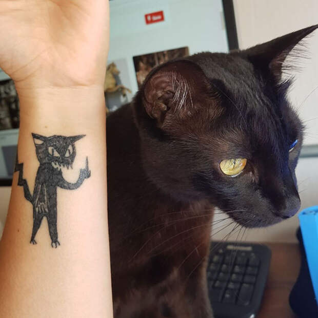 6 забавных татуировок от мастера, которая не умеет рисовать