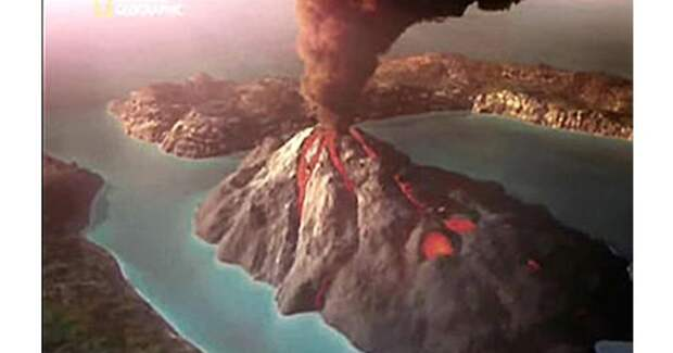 Катастрофа первая: вулкан Санторин древность, жертвы, землетрясение, извержение вулкана, история, катастрофа
