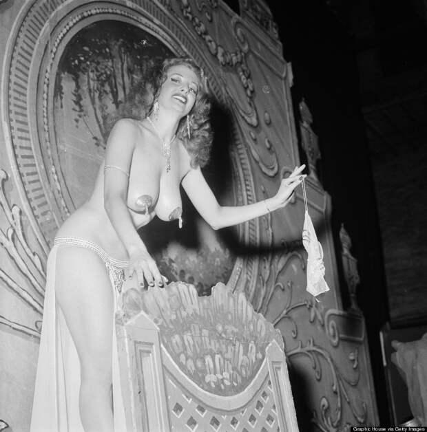 burlesque11 Краткая, но потрясающая история бурлеска в 1950 х годах