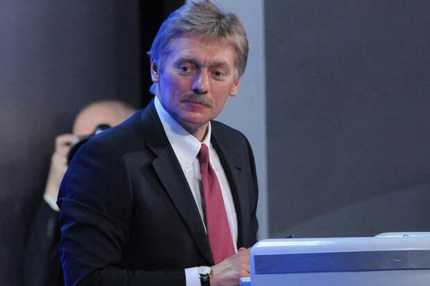 Кремль исключил тему Донбасса на встрече Путина и Зеленского