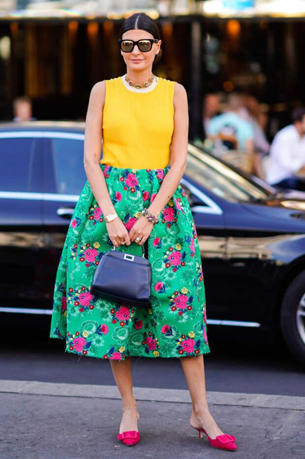 Пример звезд: юбки, в которых ноги выглядят идеально