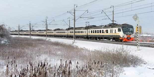 Мимо станций Подрезково и Молжаниново проедут несколько электричек 26 и 28 января