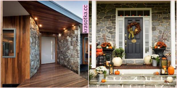 Оформление входной группы частного дома: 10 красивых идей и подсказок