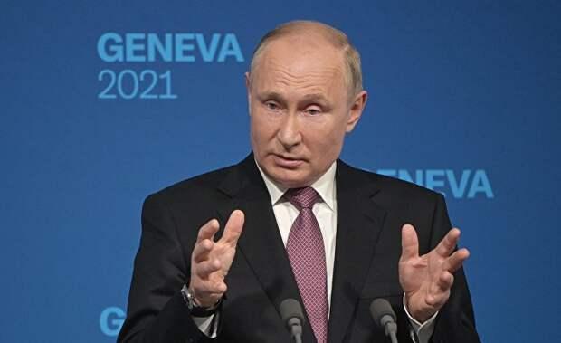Путин хвалит Байдена, но Путин - сексист