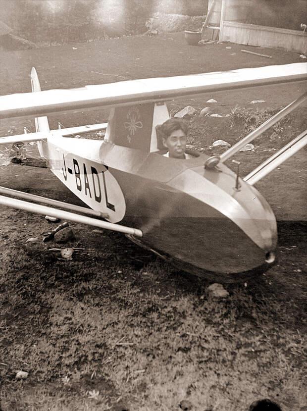 Kirigamine Taka 1 Glider J-BADL, 1930s Japan