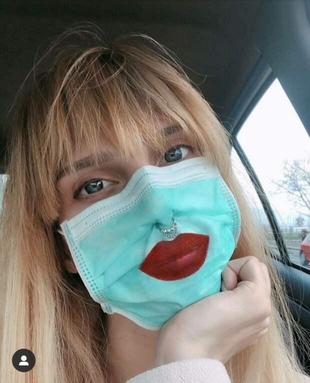 Медицинская маска Глюкозы