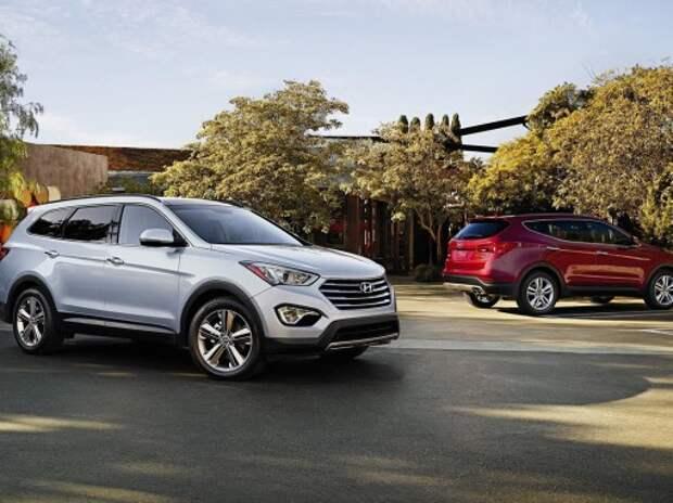 Hyundai Santa Fe и Grand Santa Fe получили улучшенное шасси