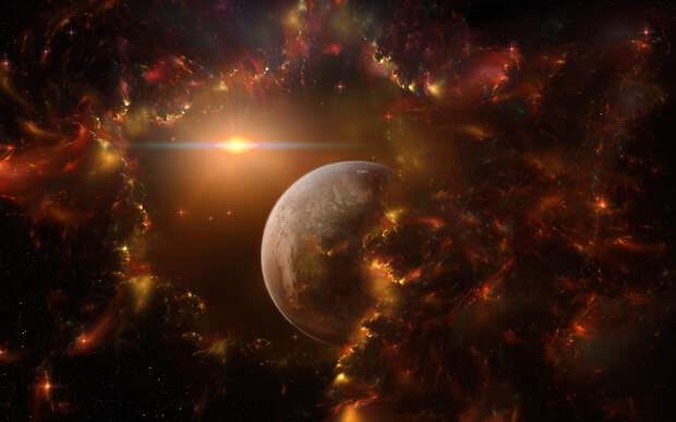 Рядом с Землёй впервые была обнаружена планета с атмосферой
