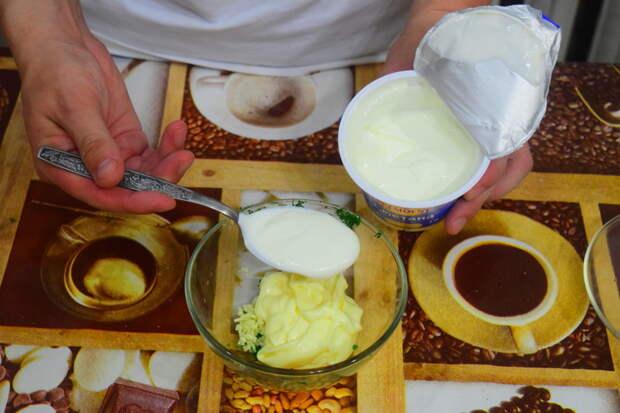 Туда же 2 ложки не жирной сметаны Айдахо, видео, еда, картофель в духовке, своими руками